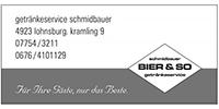 Getränkeservice Schmidbauer